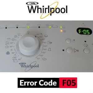 Chybové kódy práčky Whirlpool - error code
