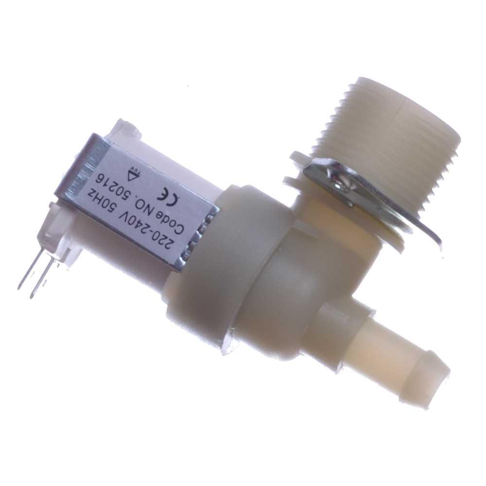 Elektromagnetický ventil práčky jednocestný 90°