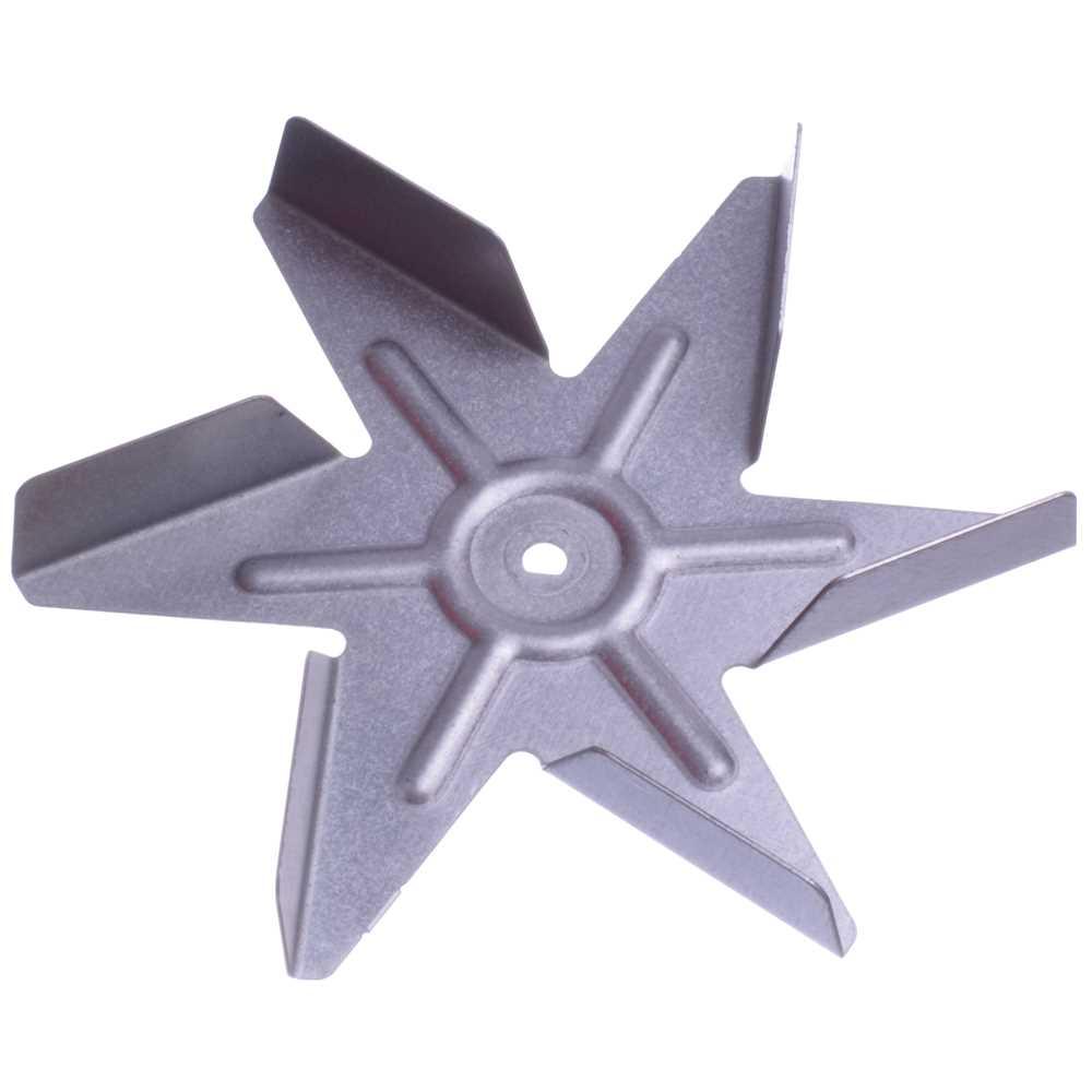 Vrtuľka ventilátora rúry