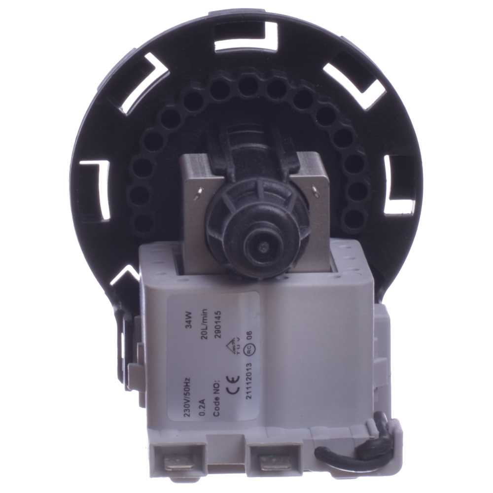 Motorček čerpadla práčky bajonet Plaset 2