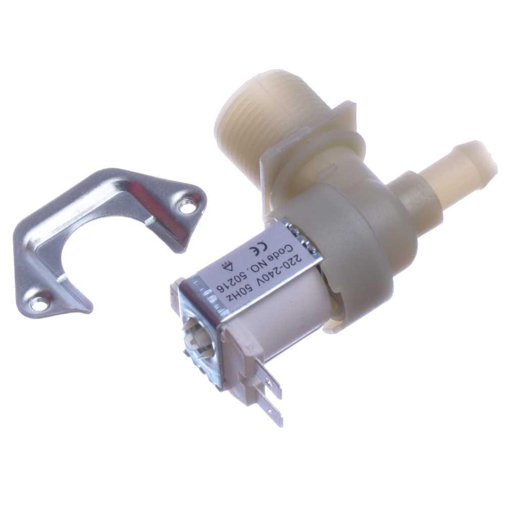 Elektromagnetický ventil práčky jednocestný 90° 1