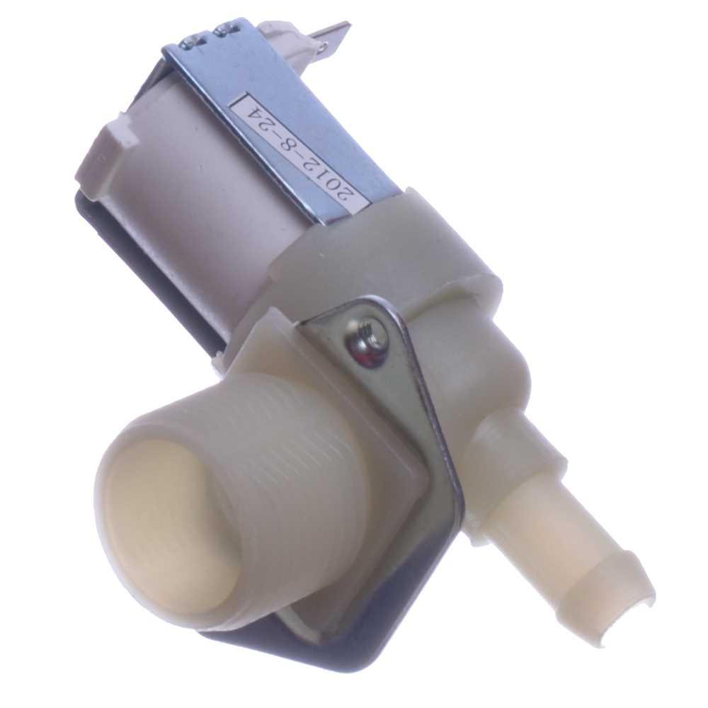 Elektromagnetický ventil práčky jednocestný 90° 2