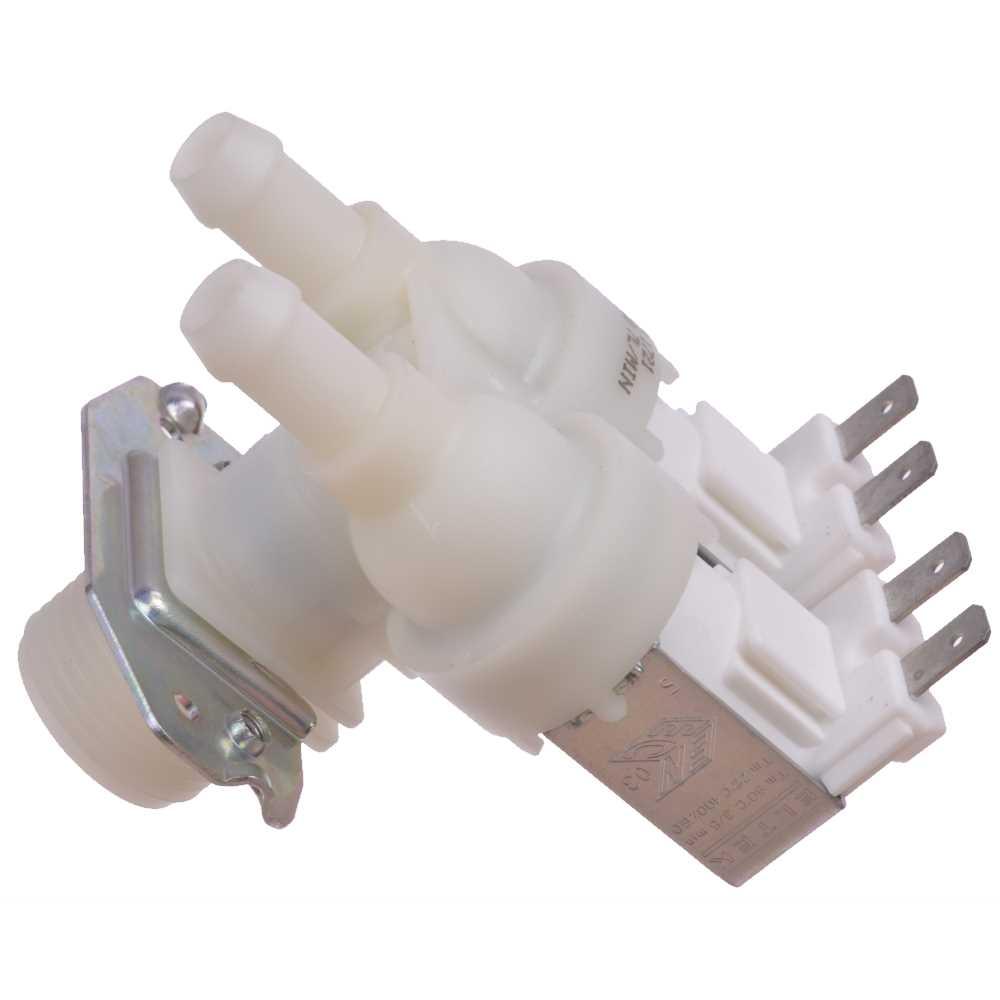 Elektromagnetický dvojcestný ventil práčky 90°