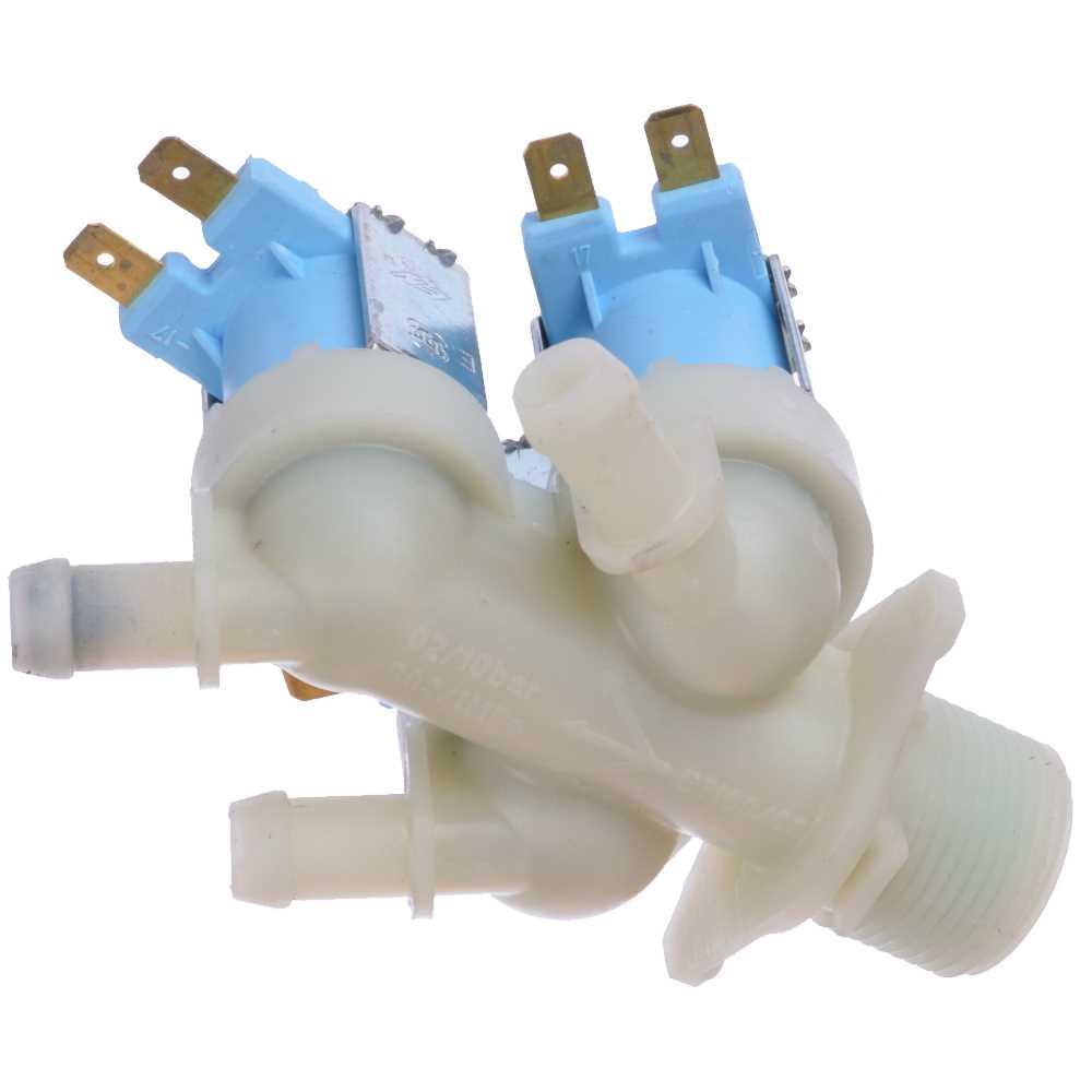 Prívodný ventil práčky trojcestný 2