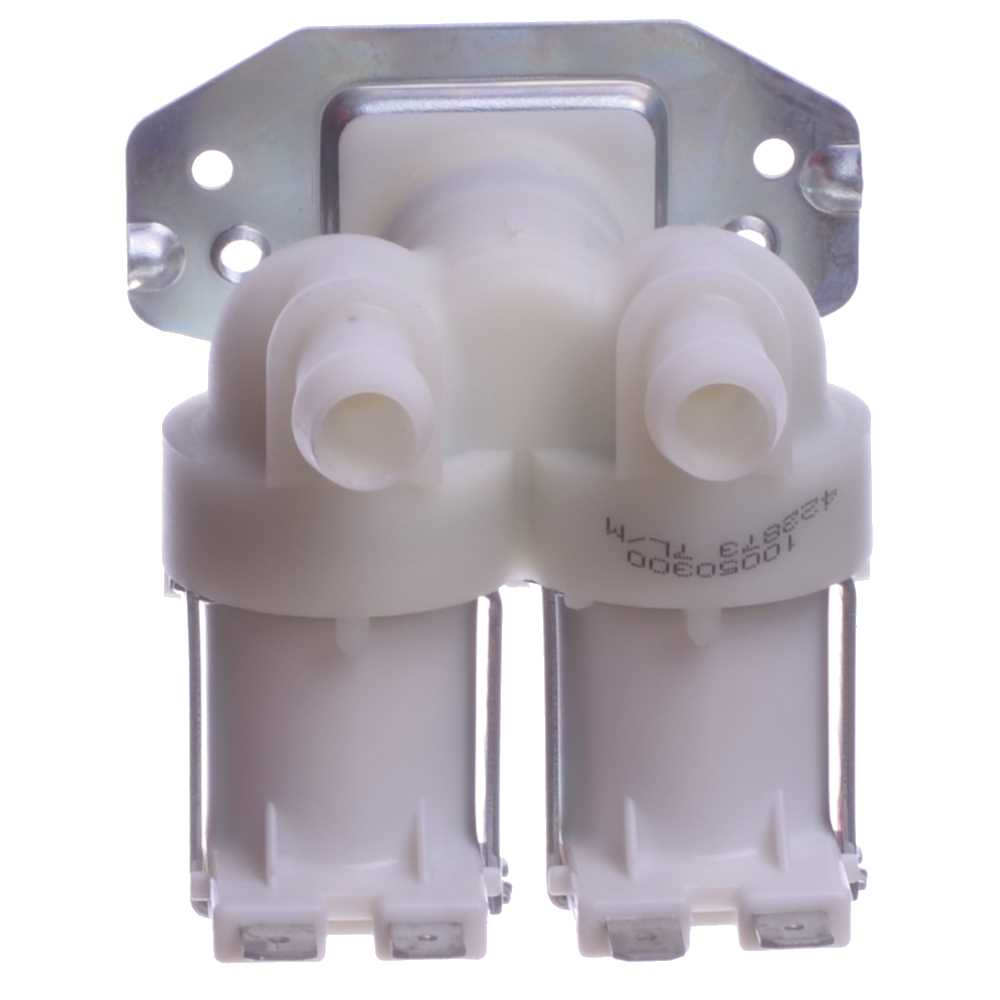 Elektromagnetický selenoidný ventil dvojcestný 180°